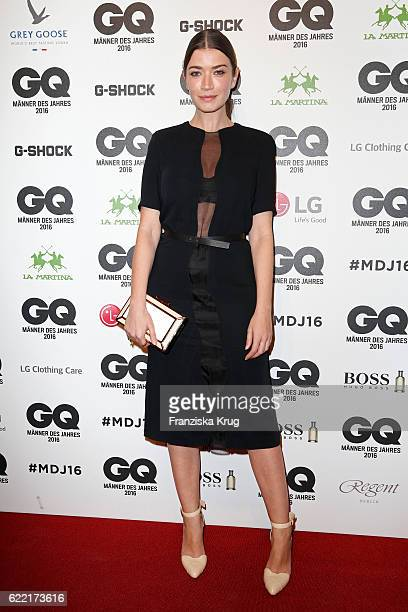 Anna Bederke arrives at the GQ Men of the year Award 2016 at Komische Oper on November 10 2016 in Berlin Germany