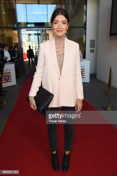 Anna Bederke attends the Hessian Reception 2017 during the 67th Berlinale International Film Festival Berlin on February 14 2017 in Berlin Germany