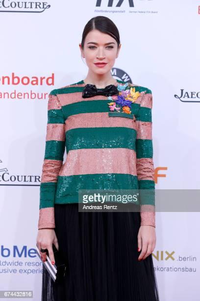 Anna Bederke attends the Lola German Film Award red carpet at Messe Berlin on April 28 2017 in Berlin Germany