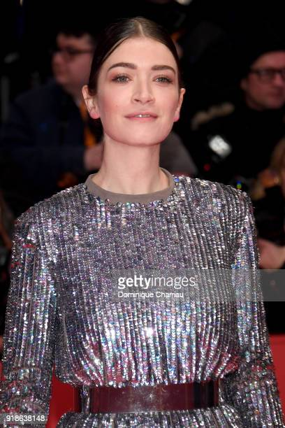 Anna Bederke attends the Opening Ceremony 'Isle of Dogs' premiere during the 68th Berlinale International Film Festival Berlin at Berlinale Palace on...