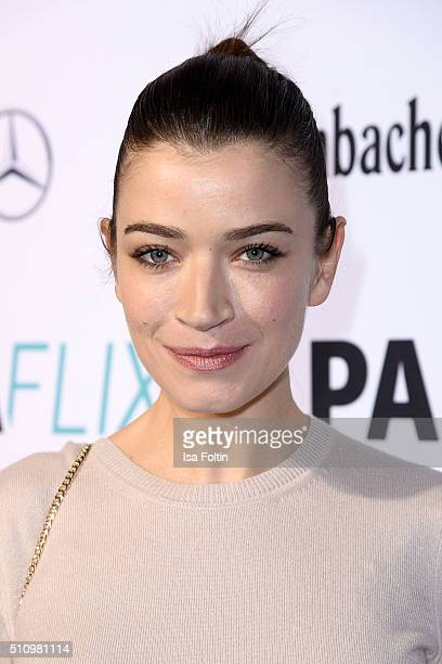 Anna Bederke attends the PantaFlix Party on February 17, 2016 in Berlin, Germany.