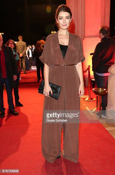 Anna Bederke during the Hessian Film and Cinema Award at Alte Oper on October 21 2016 in Frankfurt am Main Germany