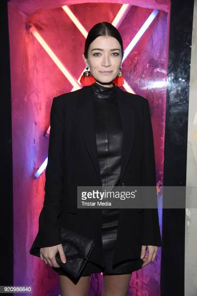 Anna Bederke during the Pantaflix Panta Party on February 19 2018 in Berlin Germany
