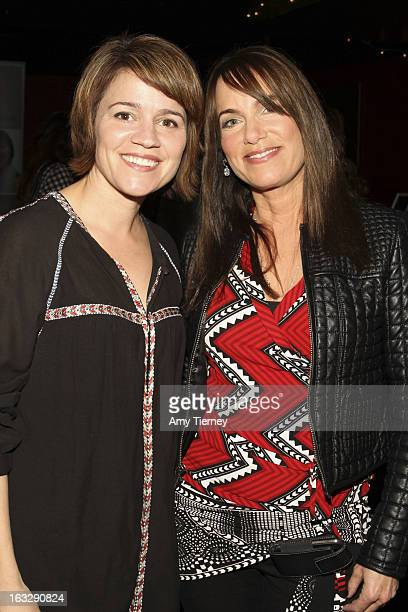Anna Belknap and Jeanne Elfant Festa attend the Step Up Women's Network Women Who Rock Event at The Roxy Theatre on March 6 2013 in West Hollywood...