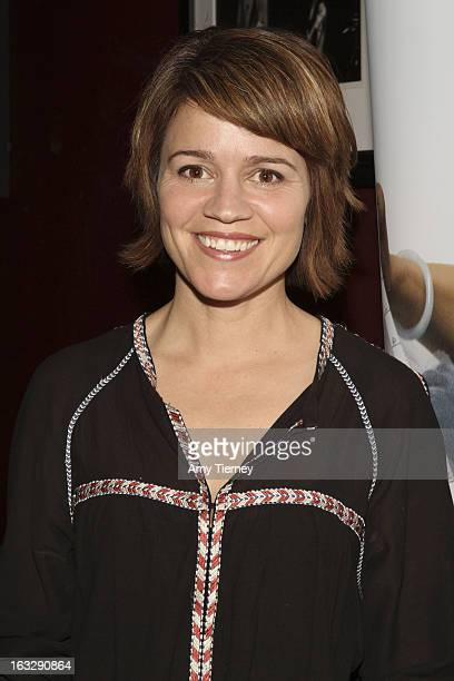 Anna Belknap attends the Step Up Women's Network Women Who Rock Event at The Roxy Theatre on March 6 2013 in West Hollywood California
