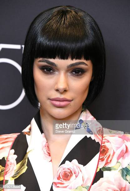 Anna Bella Costa arrives at the Hollywood Foreign Press Association And InStyle Celebrate The 75th Anniversary Of The Golden Globe Awards at Catch LA...