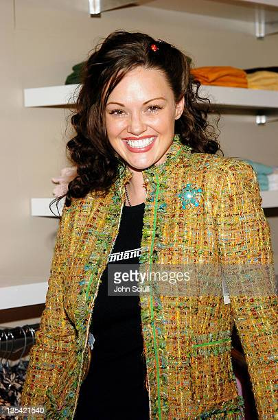 Anna Benson at Fred Segal during 2005 Park City Fred Segal Boutique at Village at the Lift at Village at the Lift in Park City Utah United States