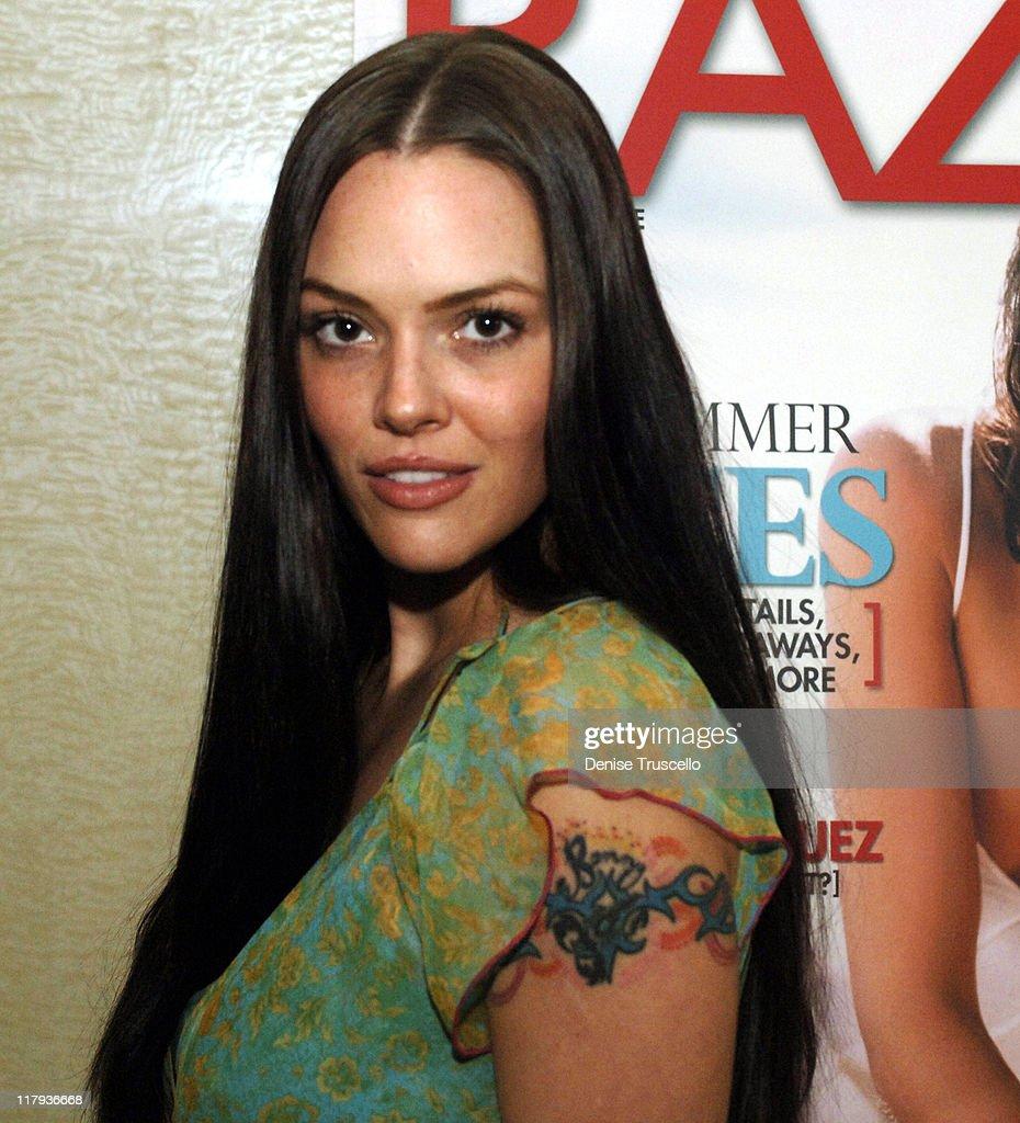 Anna Bensons World Series of Poker Party With Razor Magazine : News Photo