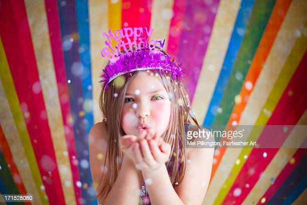 anna birthday party 1 - happybirthdaycrown stock pictures, royalty-free photos & images