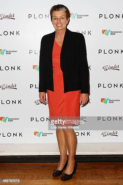 Anna Bligh arrives at the PLONK media launch at Palace Verona on February 4 2014 in Sydney Australia