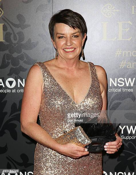 Anna Bligh arrives at the YMCA Mother of All Balls at Sydney Town Hall on May 24 2014 in Sydney Australia