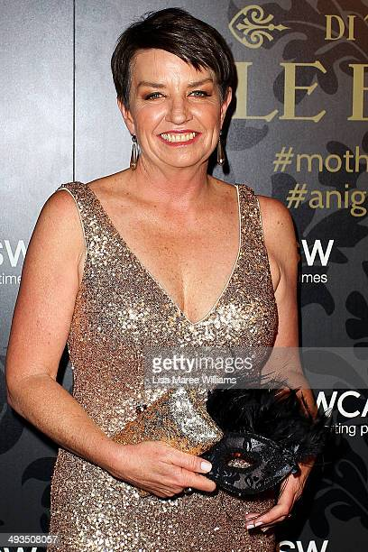 Anna Bligh attends the YMCA Mother of All Balls at Town Hall on May 24 2014 in Sydney Australia
