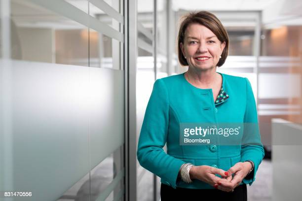Anna Bligh chief executive officer of the Australian Bankers' Association poses for a photograph in Sydney Australia on Monday Aug 14 2017...