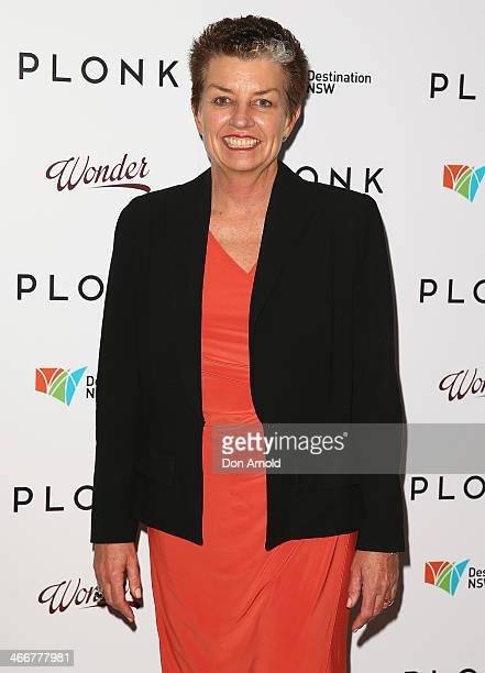 Anna Bligh poses during the PLONK media launch at Palace Verona on February 4 2014 in Sydney Australia