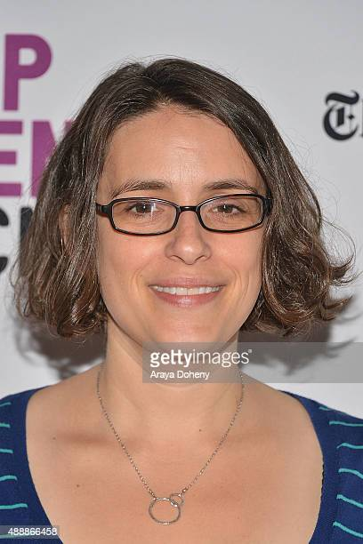 Anna Boden attends the Film Independent at LACMA screening and QA of 'Mississippi Grind' at Bing Theatre At LACMA on September 17 2015 in Los Angeles...