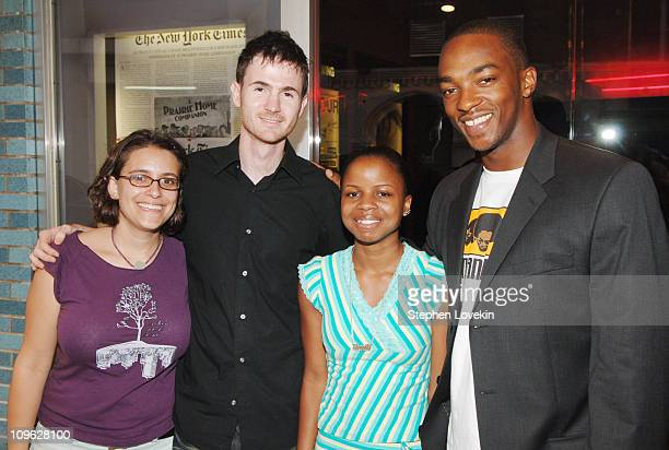 Anna Boden writer and producer Ryan Fleck director Shareeka Epps and Anthony Mackie