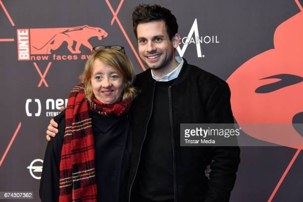 Anna Boettcher and guest attend the New Faces Award Film at Haus Ungarn on April 27 2017 in Berlin Germany