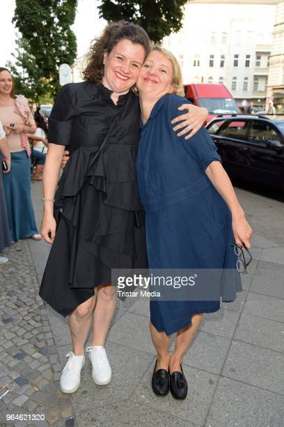 Anna Boettcher and her sister Dorothea Boettcher attend the 'Back for Good' premiere on May 31 2018 in Berlin Germany