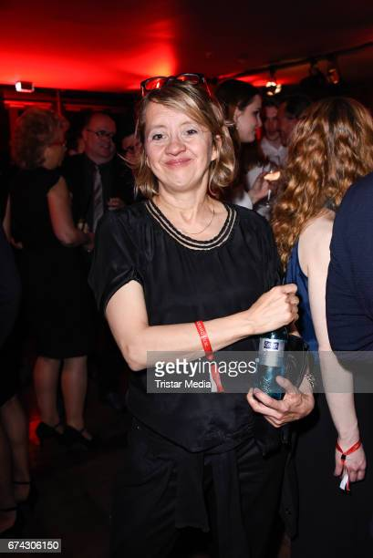 Anna Boettcher attends the New Faces Award Film at Haus Ungarn on April 27 2017 in Berlin Germany