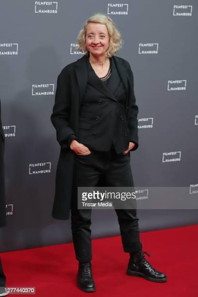 "Anna Boettcher attends the ""u201eCortex""u201c premiere during Hamburg film festival on September 25, 2020 in Hamburg, Germany."