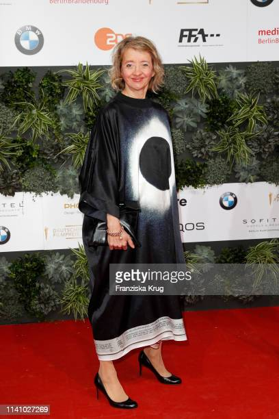 Anna Boettcher during the Lola German Film Award red carpet at Palais am Funkturm on May 3 2019 in Berlin Germany