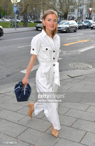 Anna Borisovna during the opening of the new Kate Spade New York boutique store on April 16, 2019 in Munich, Germany. This store marks Kate Spade New...