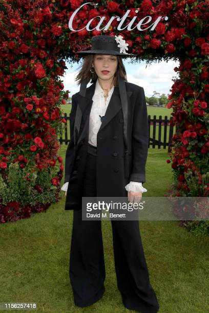 Anna Brewster attends Cartier Queen's Cup Polo 2019 on June 16 2019 in Windsor England