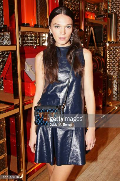 Anna Brewster attends Louis Vuittons Celebration of GingerNutz in Vogue's December Issue on November 21 2017 in London England