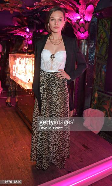Anna Brewster attends the Agent Provocateur AW19 campaign launch party in collaboration with Sink The Pink and CIROC Vodka at Annabel's on September...
