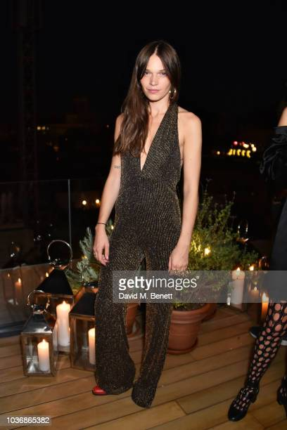 Anna Brewster attends The Barcelona EDITION Launch Party on September 20 2018 in Barcelona Spain