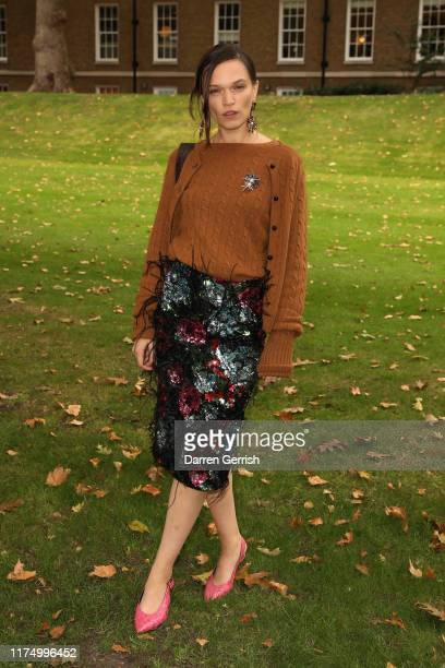 Anna Brewster attends the Erdem show during London Fashion Week September 2019 on September 16 2019 in London England