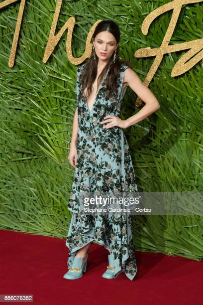 Anna Brewster attends the Fashion Awards 2017 In Partnership With Swarovski at Royal Albert Hall on December 4 2017 in London England