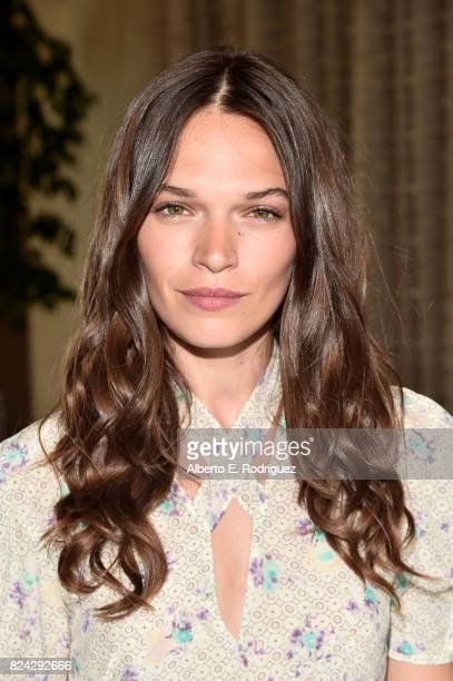 Anna Brewster of 'Versailles' at the Ovation Summer TCA Press Tour at The Beverly Hilton Hotel on July 29 2017 in Beverly Hills California