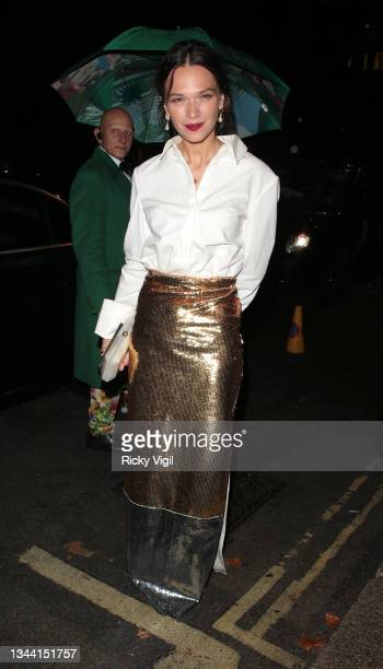 Anna Brewster seen attending Annabel's For The Amazon, a fundraising event at Annabel's to plant one million trees in the Amazon rainforest, in...