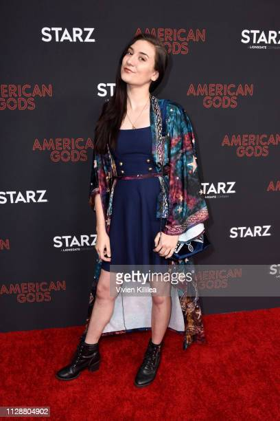 Anna Brisbin attends the American Gods Season Two Red Carpet Premiere Event on March 5 2019 in Los Angeles California