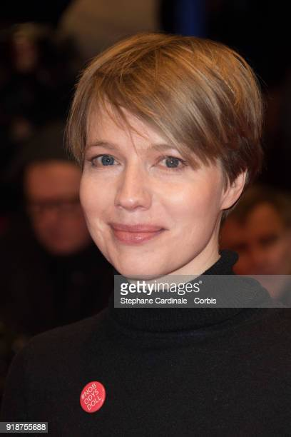 Anna Brueggemann attends the Opening Ceremony 'Isle of Dogs' premiere during the 68th Berlinale International Film Festival Berlin at Berlinale...