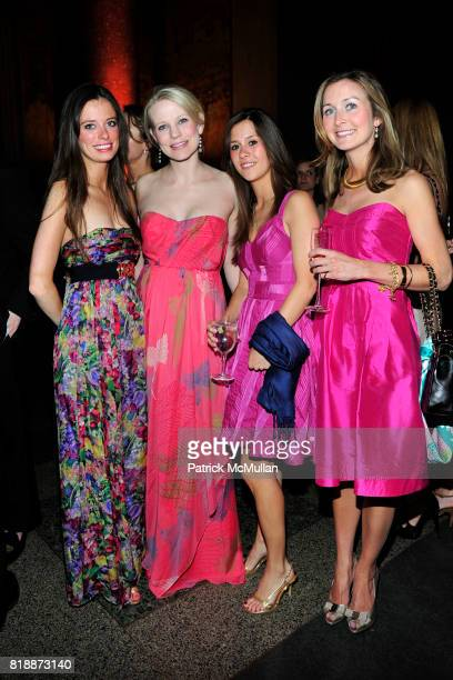 Anna Burke Jessica Kleinknecht Corcoran and Molly Peters attend AMERICAN MUSEUM OF NATURAL HISTORY'S 2010 Museum Dance Sponsored by LILLY PULITZER at...
