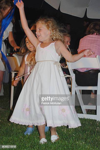 Anna Burns attends DELLA FEMINA'S FOURTH OF JULY PARTY at East Hampton on July 7 2007