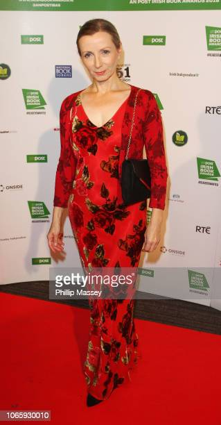 Anna Burns attends the An Post Irish book awards at Clayton Hotel on November 27 2018 in Dublin Ireland