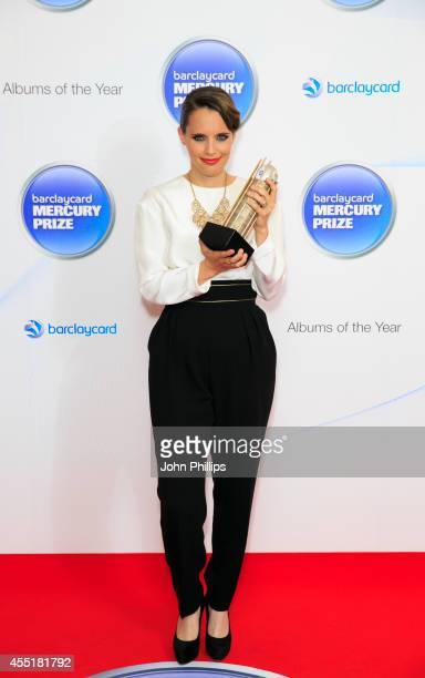 Anna Calvi attends the Barclaycard Mercury Prize nominations launch at The Hospital Club on September 10 2014 in London England
