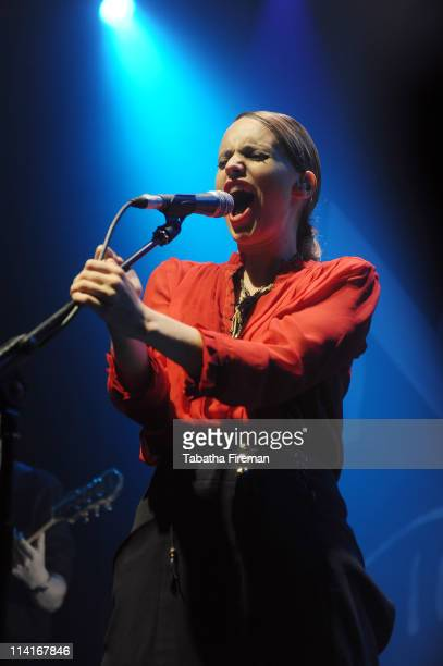 Anna Calvi headlines upstairs at Komedia during the second day of The Great Escape Festival on May 13 2011 in Brighton United Kingdom