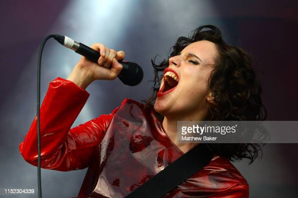Anna Calvi performs during the All Points East Festival at Victoria Park on May 25 2019 in London England