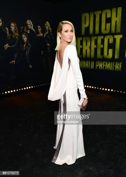 Anna Camp Anna Campattends the premiere of Universal Pictures' 'Pitch Perfect 3' at Dolby Theatre on December 12 2017 in Hollywood California