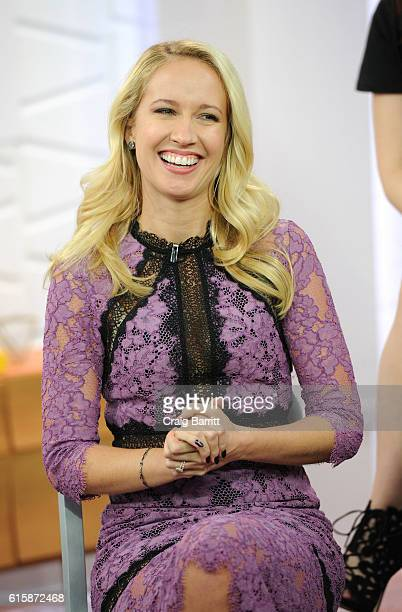 Anna Camp appears on Amazon's Style Code Live on October 20 2016 in New York City