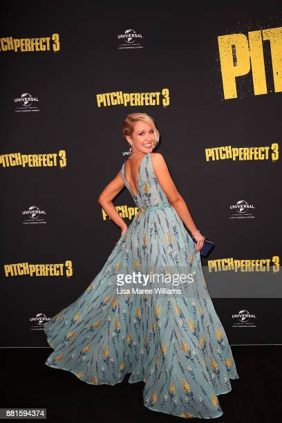 Anna Camp arrives ahead of the Australian Premiere of Pitch Perfect 3 on November 29 2017 in Sydney Australia