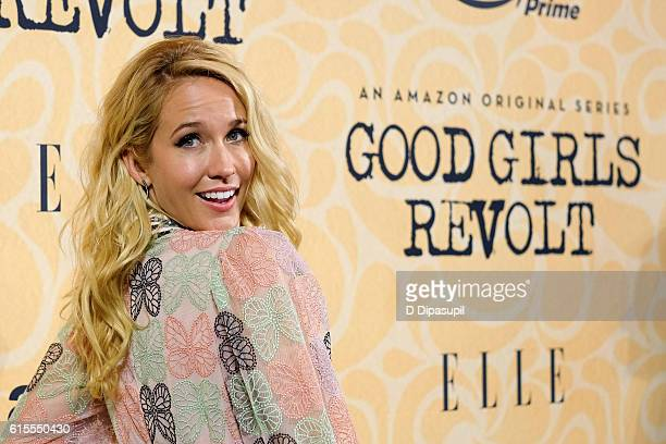 Anna Camp attends the Good Girls Revolt New York screening at the Joseph Urban Theater at Hearst Tower on October 18 2016 in New York City