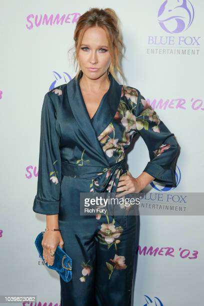 Anna Camp attends the premiere of Blue Fox Entertainment's 'Summer '03' at the Vista Theatre on September 24 2018 in Los Angeles California