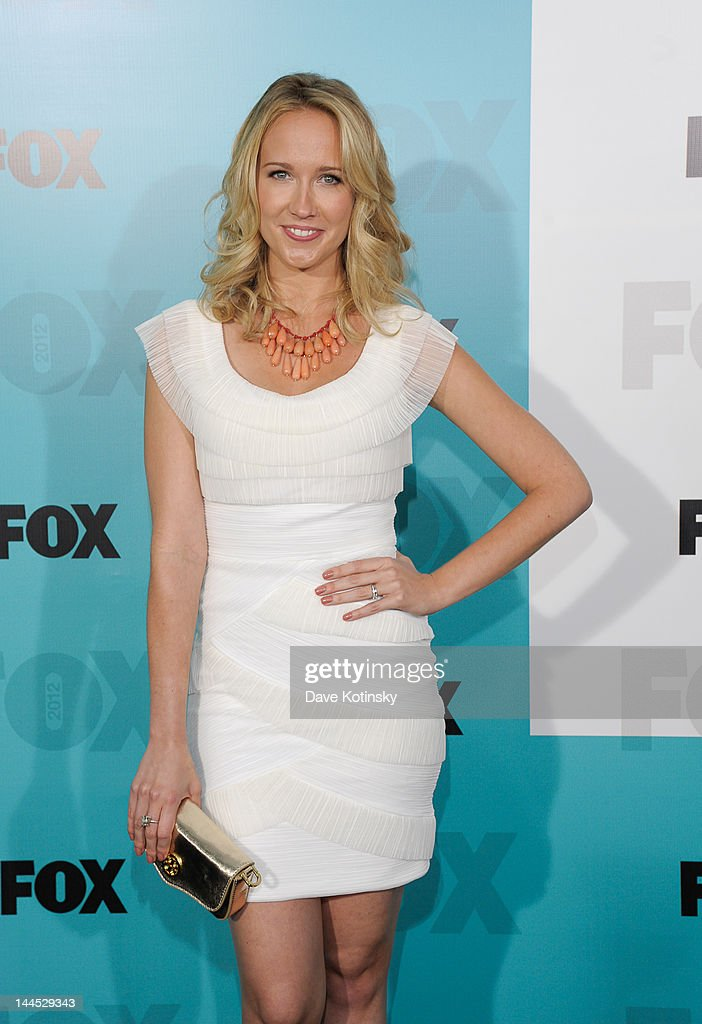 Anna Campattends attends the Fox 2012 Programming Presentation Post-Show Party at Wollman Rink, Central Park on May 14, 2012 in New York City.