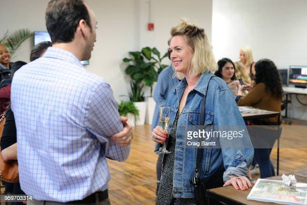 Anna Caplan attends the AD Bon Appetit and Delta Faucet toast of the Conde Nast Kitchen Studio on May 17 2018 in New York City