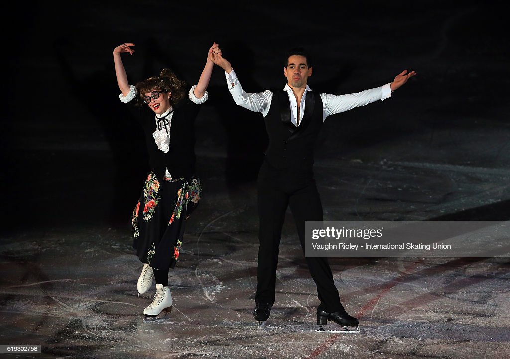 Anna Cappellini and Luca Lanotte of Italy perform in the Exhibition Gala during the ISU Grand Prix of Figure Skating Skate Canada International at Hershey Centre on October 30, 2016 in Mississauga, Canada.